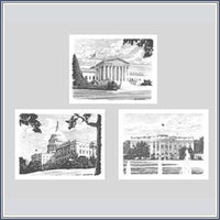 Notecards - Sketch 3 Branches of Government