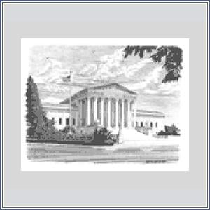 Notecards - Sketch Supreme Court Building