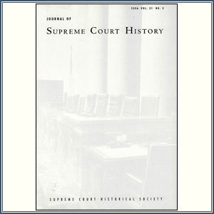 2006 Vol. 31 No. 3: Journal of Supreme Court History