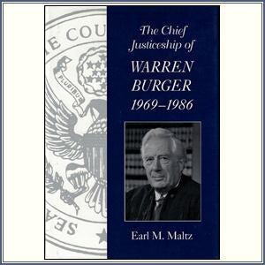 Chief Justiceship of W. Burger