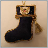 Ornament - Embroidered Supreme Court Stocking