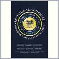 Inaugural Addresses  Vol 1