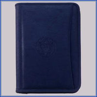 Padfolio - Full Zippered, Navy
