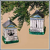 Ornament - Supreme Court, Glass