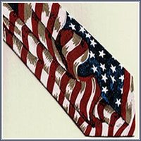 Tie - Large Wavy Flags