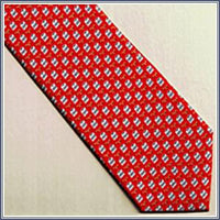 Tie - Court Case, Red