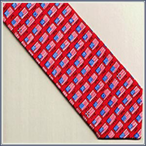 Tie - History of American Flag