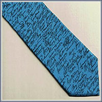 Tie - The Signers, Lt. Blue/Nav