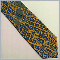 Tie - The District, Blue/Gold