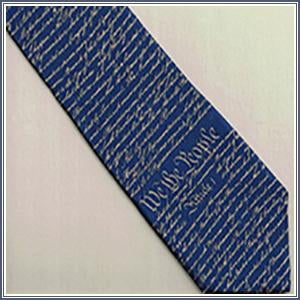 Tie - Constitution, Navy/Gold