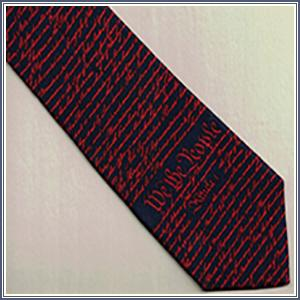 Tie - Constitution, Navy/Red