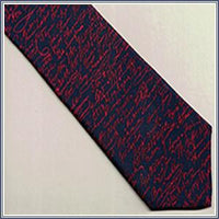 Tie - The Signers, Navy/Red