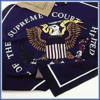 Knit Throw - Supreme Court Seal