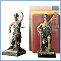 Bookend - Lady Justice, Kneelin