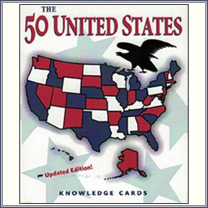 Knowledge Cards - 50 United Sta