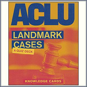 Knowledge Cards - Landmark Case