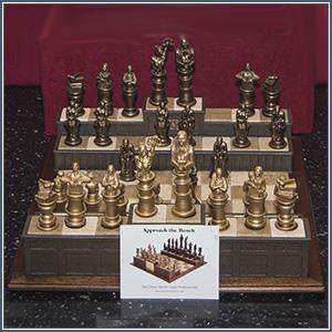 Chess Set - Approach the Bench