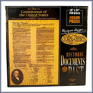 The Constitution of the United States Puzzle
