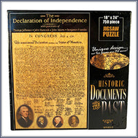 The Declaration of the United States Puzzle