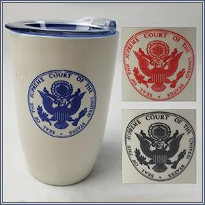 Tumbler - Denali Ceramic White/Blue