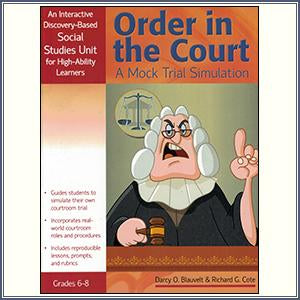 Order In The Court: A Mock Tria