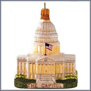 Ornament - Capitol, Glass