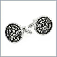 Cuff Link - Pres. Seal, Ant. Sil