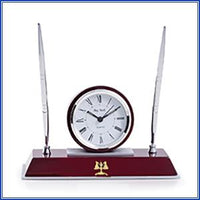 Clock - Double Pen Holder