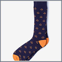 Socks - Tip the Scales, Navy