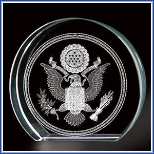 Paperweight - Crystal Great Seal