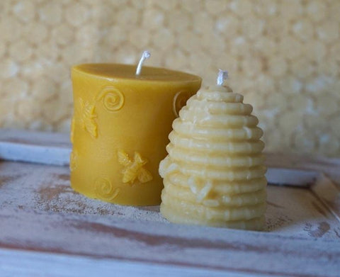 Pure Beeswax Candles Pillar