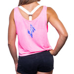 Womens Flowy Crop Top