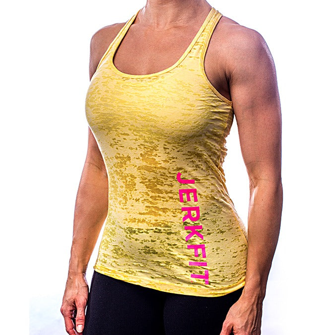Women's Jerkfit 'side' Tank Burnout