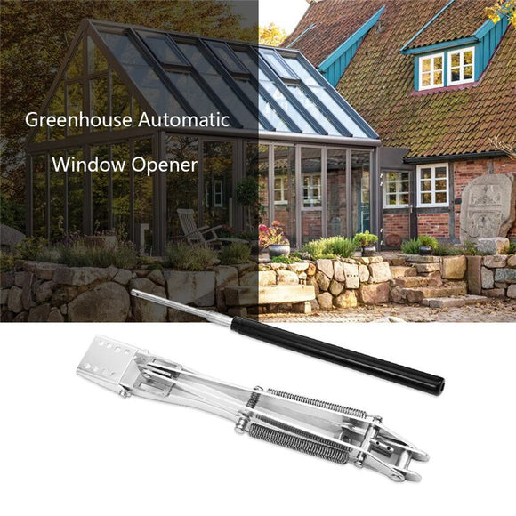 New Style 1PC Solar Heat Sensitive Auto Thermo Greenhouse Vent Window Opener Automatic Agricultural Windows Opening