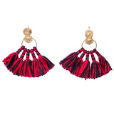 Mini Brass Tassel Earrings DEr12A-7