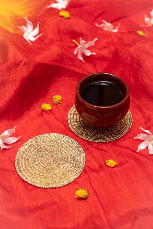 Dhokra Braids Coaster