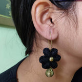 Floral Thread Earrings