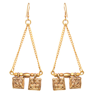 Square Danging Earrings DEr61