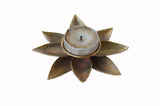 Dhokra Lotus Candle Stand