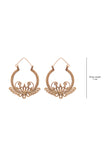 Dokra Flower Bali Earrings DEr84