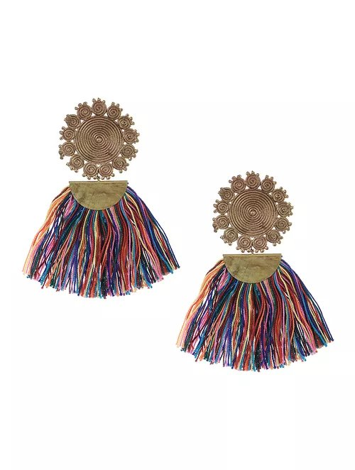Tassel Geometric Rings  Earrings.