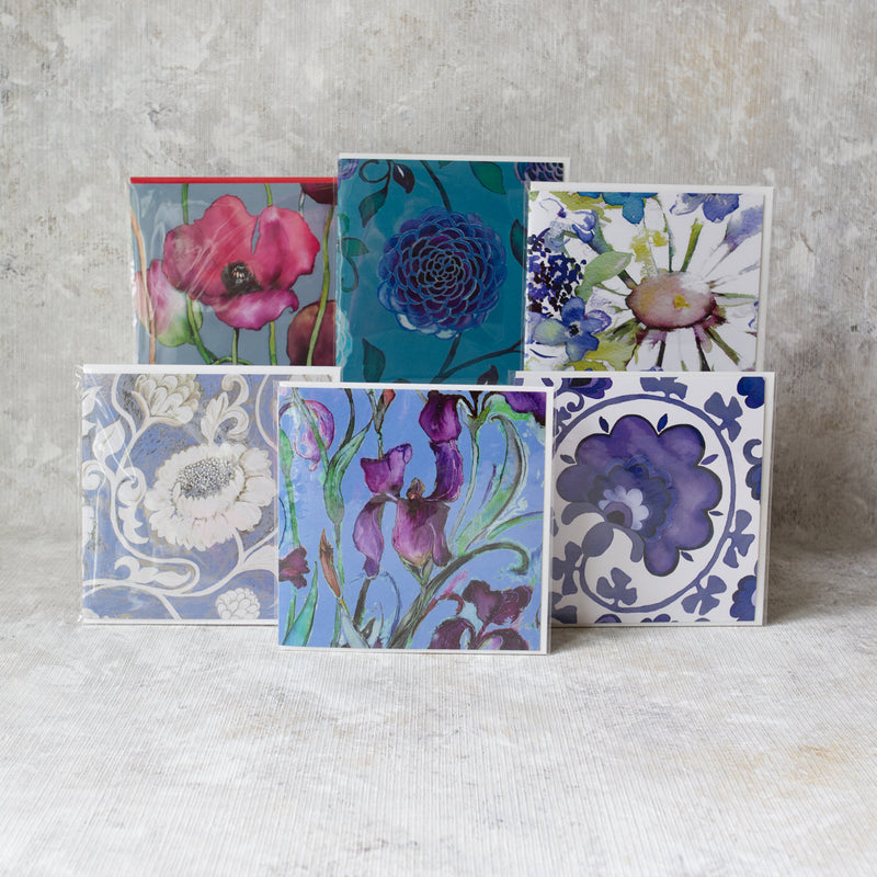 Singing the Blues. Pack of 6 cards