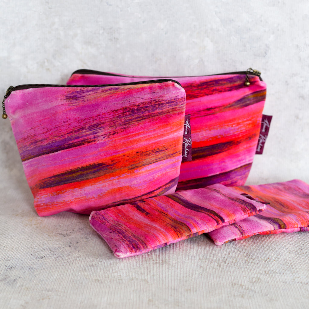 Dappled Velvet Bag
