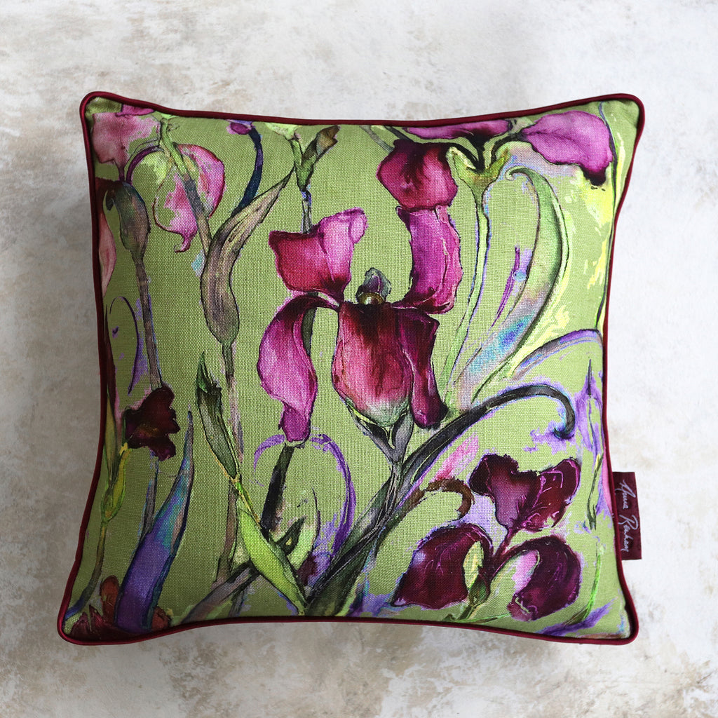 Iris Lichen Cushion