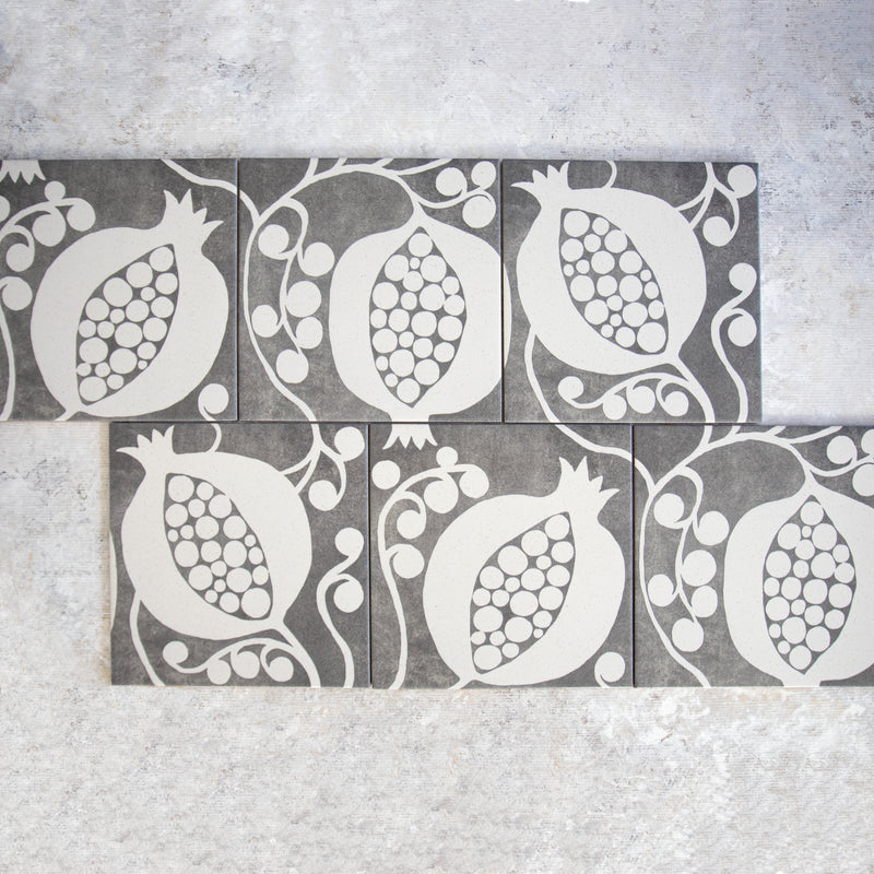 Pomegranate Stone Tile
