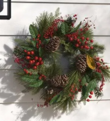 Christmas Wreath Workshop - 7 dates available. 7pm start - finished ( roughly 8:30pm)