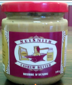 Nutsmith Natural Cashew Butter 240g