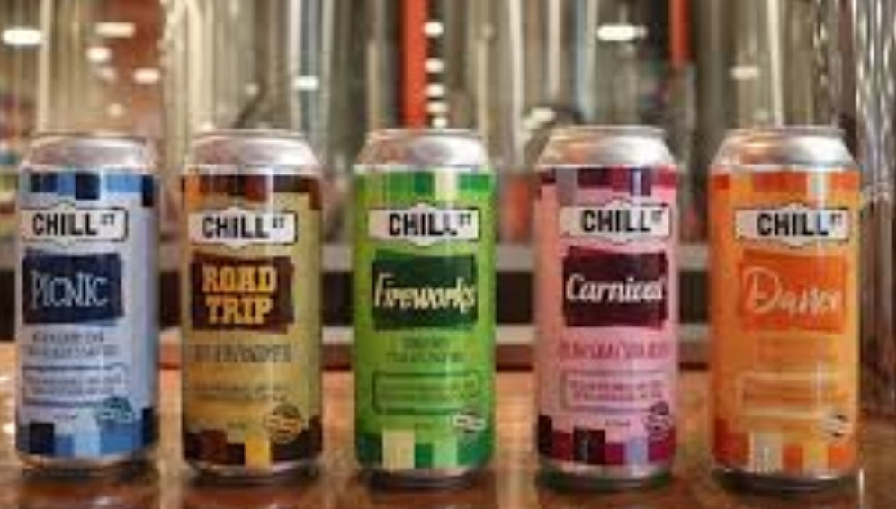 Chill Street 330ml Soda .10 deposit included