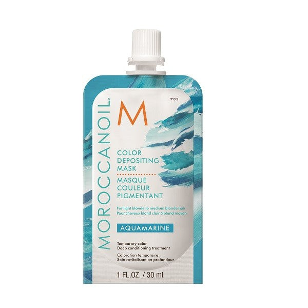 Moroccanoil Aquamarine Color Depositing Mask 30ml