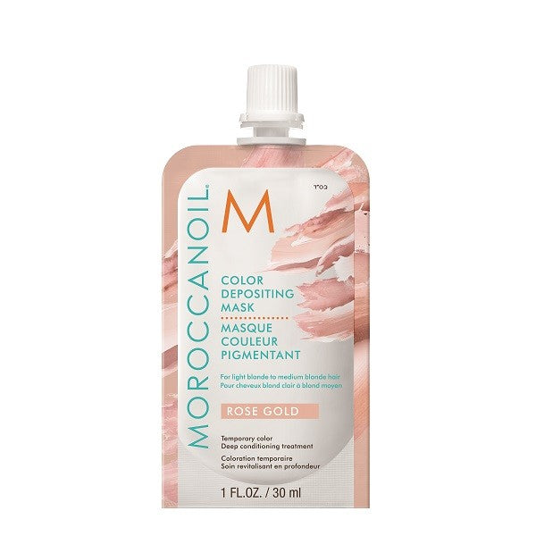 Moroccanoil Rose Gold Color Depositing Mask 30ml